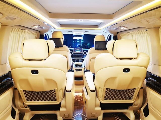 奔驰商务车航空座椅改装